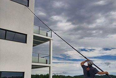 lavage de vitres commercial